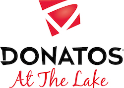 Donatos at the Lake logo 2019